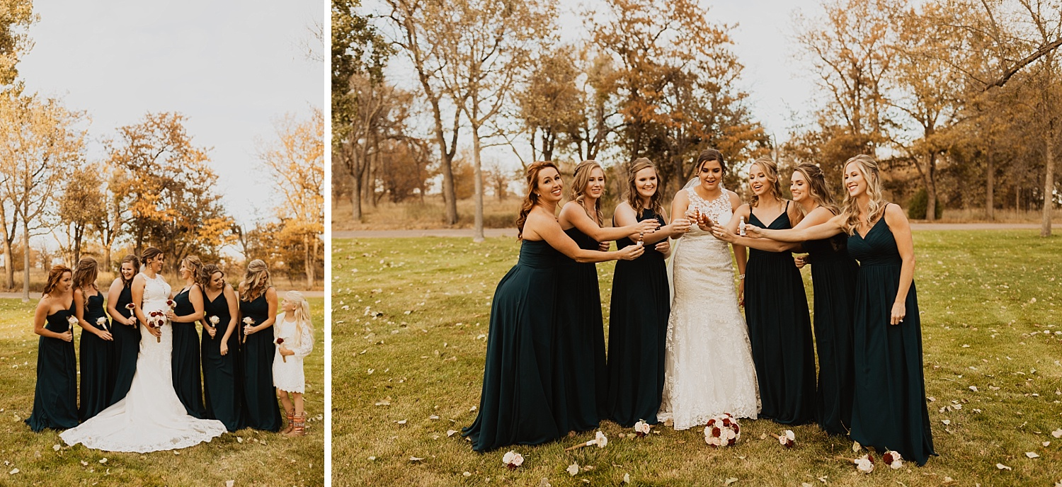 Bridesmaid Dresses | Bridal Party Photos | Bridal Party Colors | Cassie Madden Photography