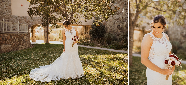 Bridal Portrait | Lace Bridal Gown | Colorado Bride | Cassie Madden Photography