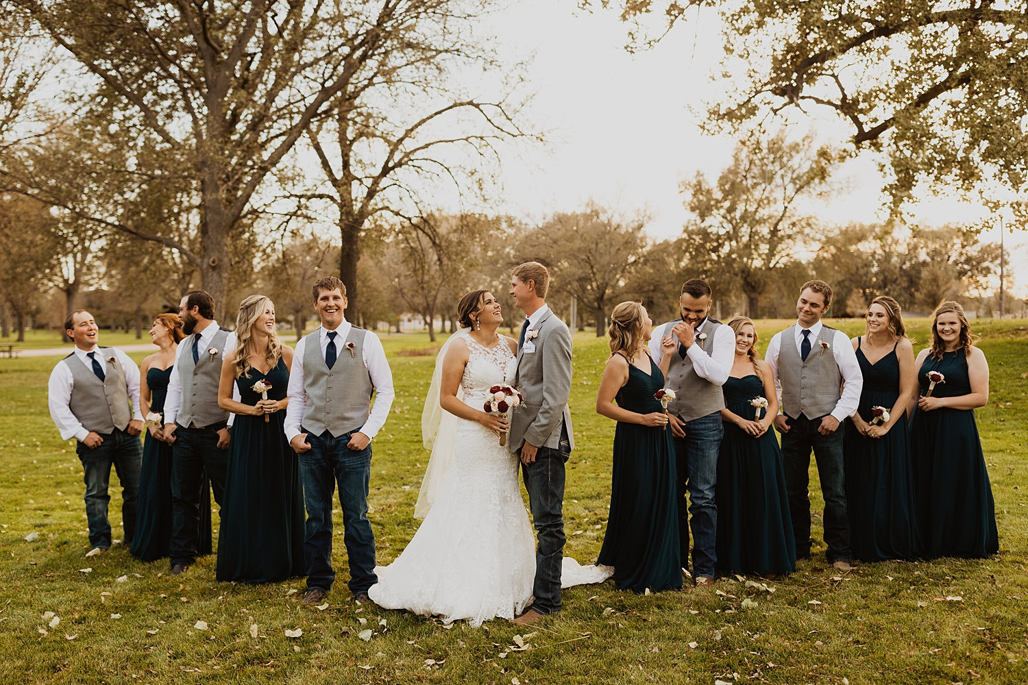 Wedding Party | Wedding Party Colors | Cassie Madden Photography
