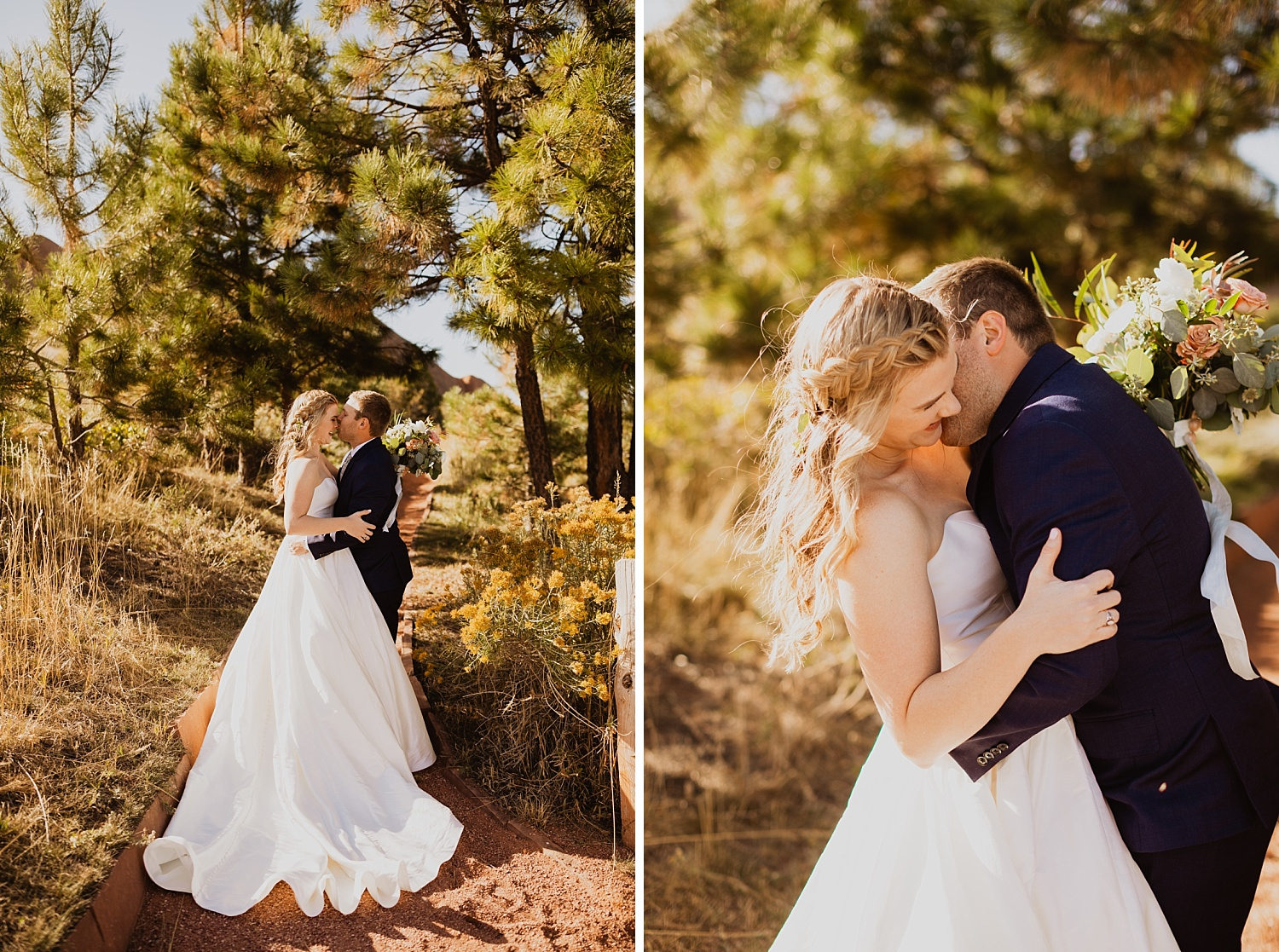 Colorado Wedding | Bride and Groom Pictures | Sunset Pictures | Cassie Madden Photography