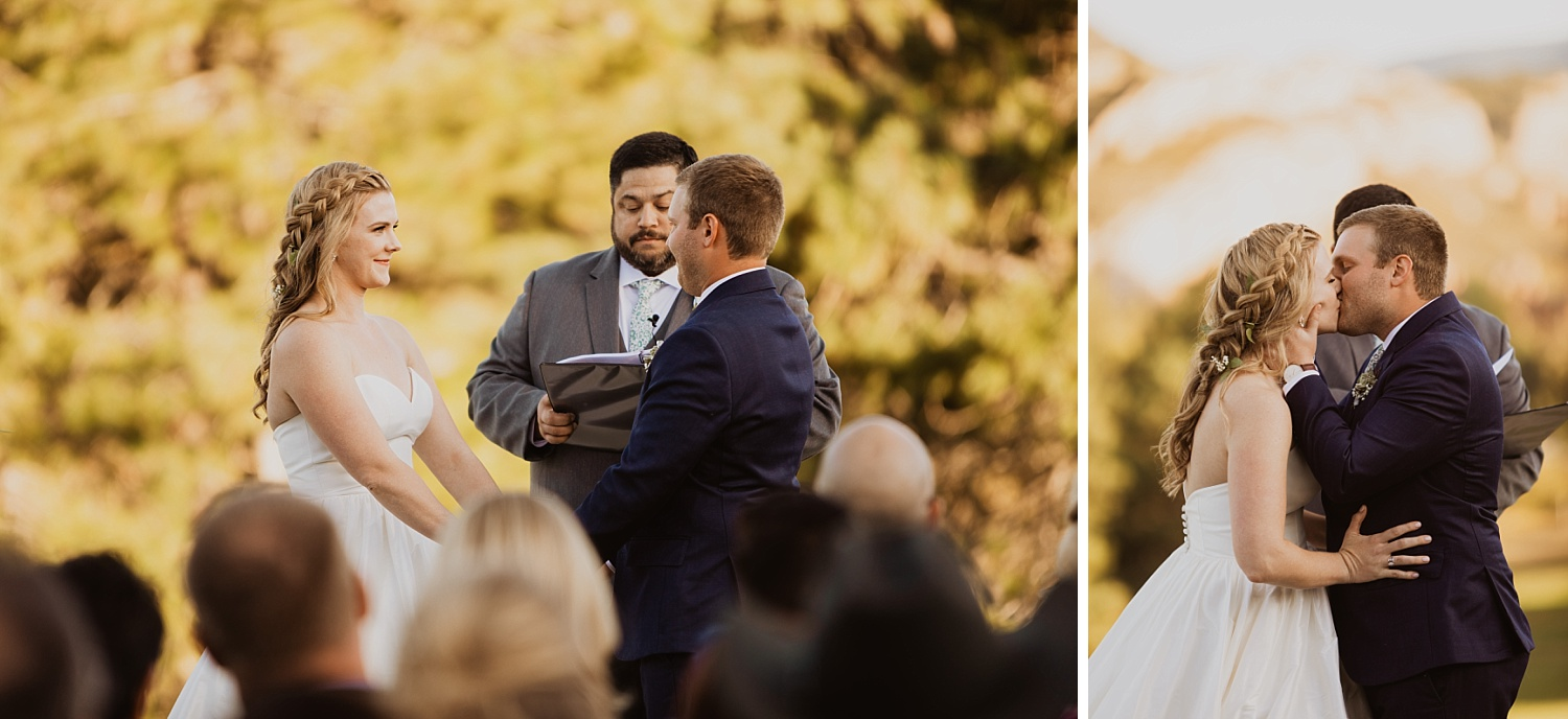 Colorado Wedding | Arrowhead Golf Course | Mountain Ceremony | Cassie Madden Photography