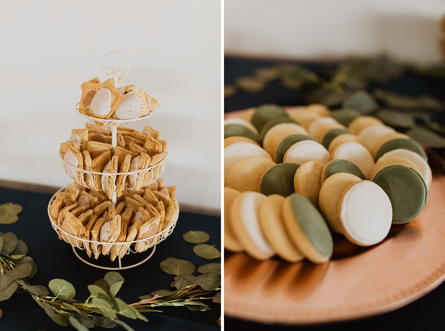 Colorado Wedding | Reception Decorations | Finger Desserts | Cassie Madden Photography