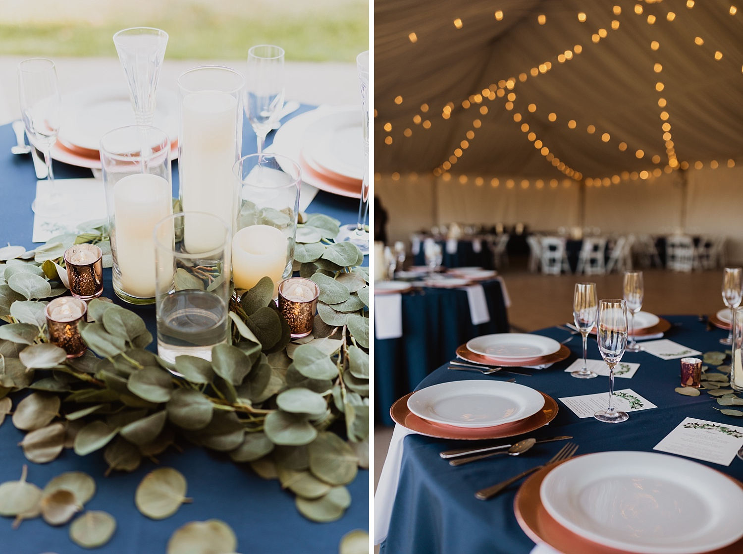 Colorado Wedding | Reception Decorations | Tent Reception | Cassie Madden Photography