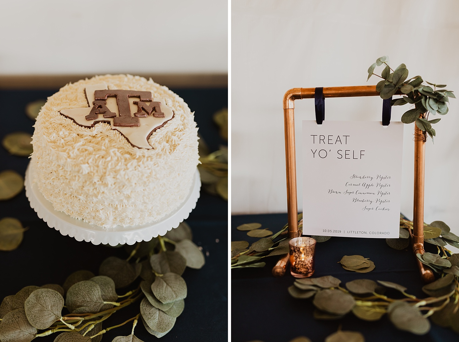 Colorado Wedding | Reception Decorations | Aggie Wedding | Cassie Madden Photography
