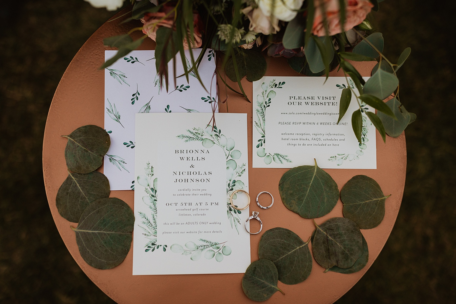 Colorado Wedding | Boho Invitation Suite | Cassie Madden Photography
