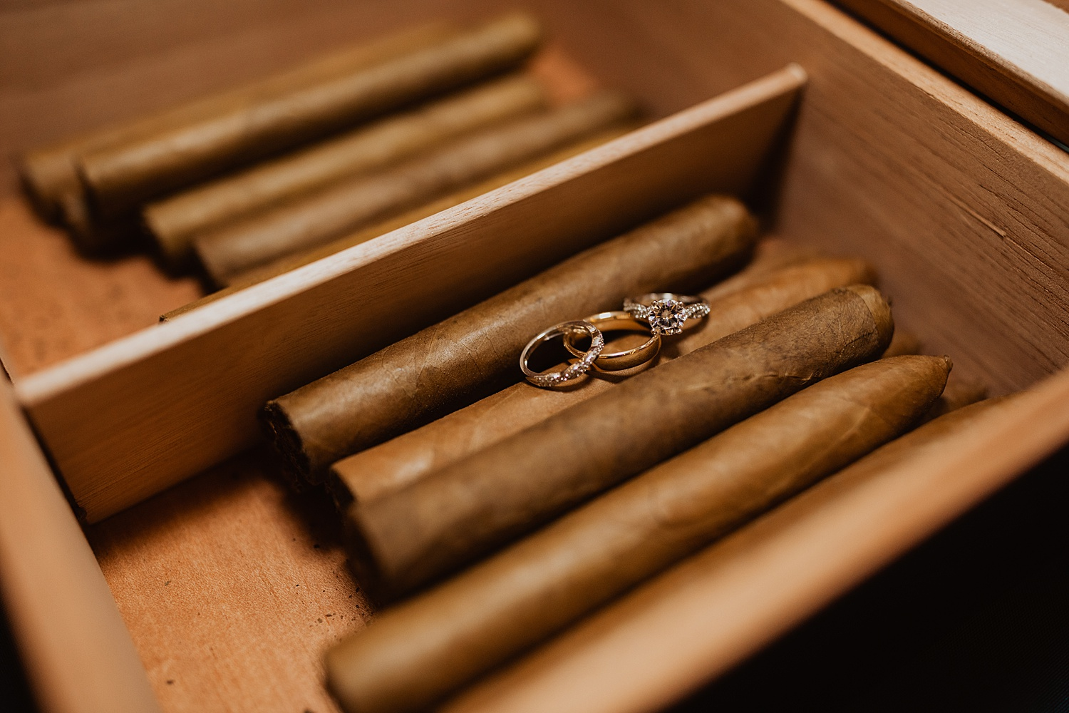 Colorado Wedding | Specialty Cigars | Bride and Groom Rings | Cassie Madden Photography