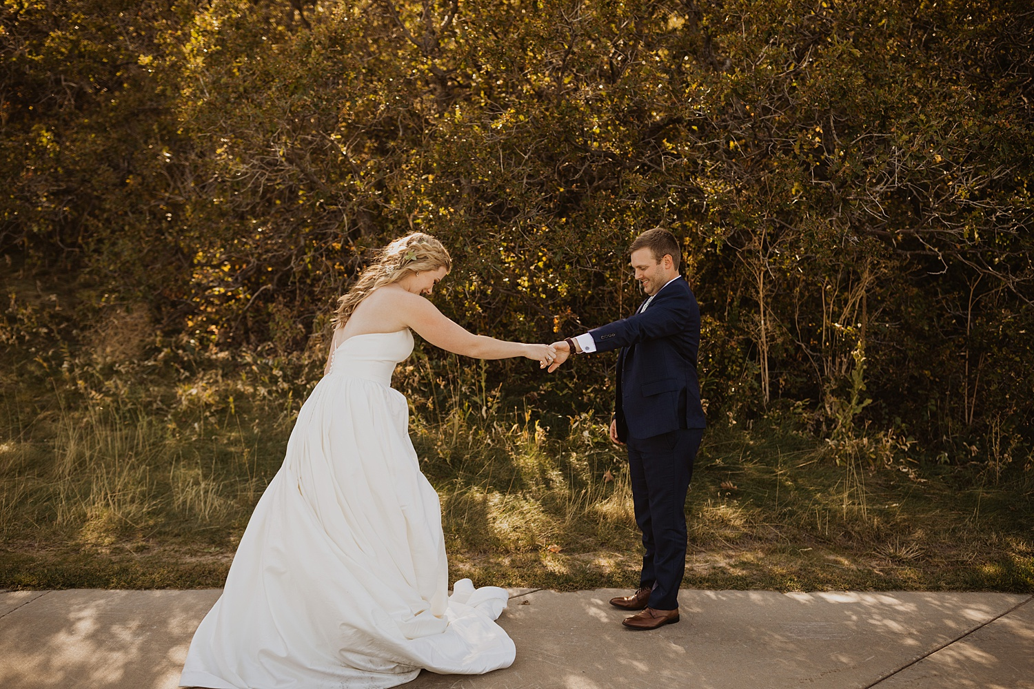 Colorado Wedding | First Look Ideas | Cassie Madden Photography