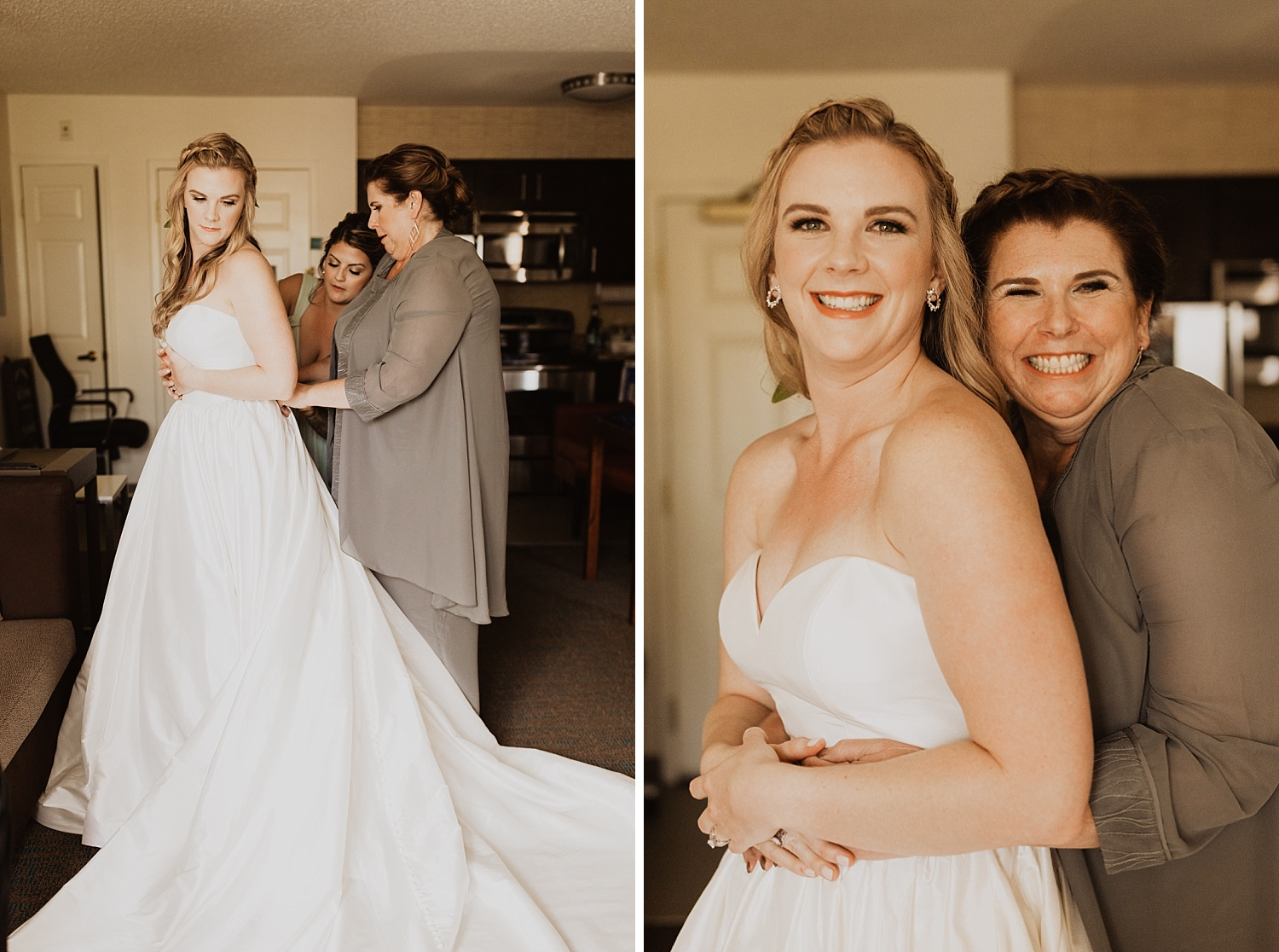 Colorado Wedding | Bridal Makeup | Bridal Gown | Cassie Madden Photography