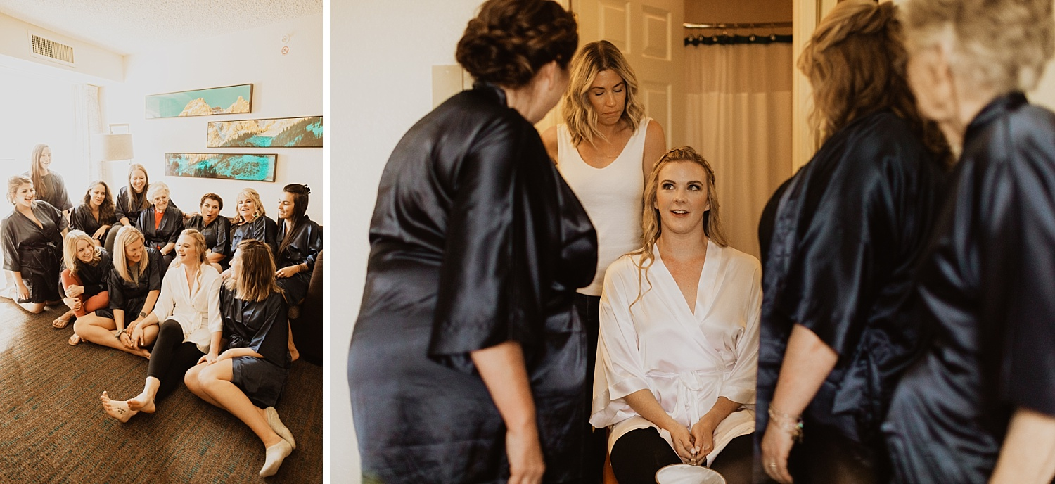 Colorado Wedding | Bridal Party | Getting Ready Outfits | Cassie Madden Photography
