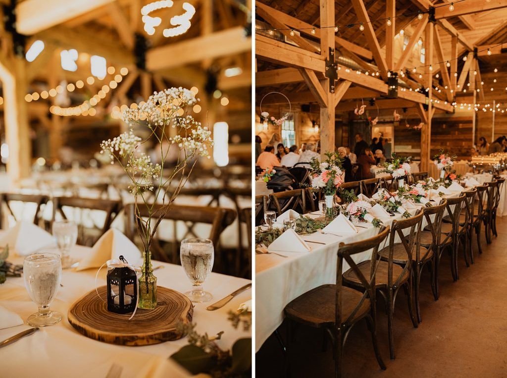 Rustic Wedding Decor | Barn Wedding Decor | South Dakota Weddings | Cassie Madden Photography