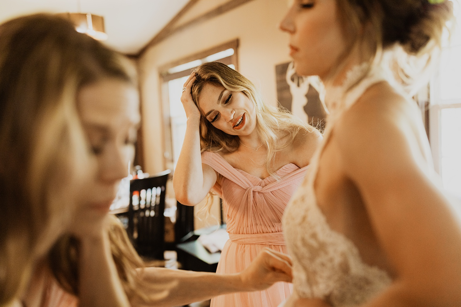 South Dakota Wedding   Getting Ready Pictures   Bridal Party   Cassie Madden Photography