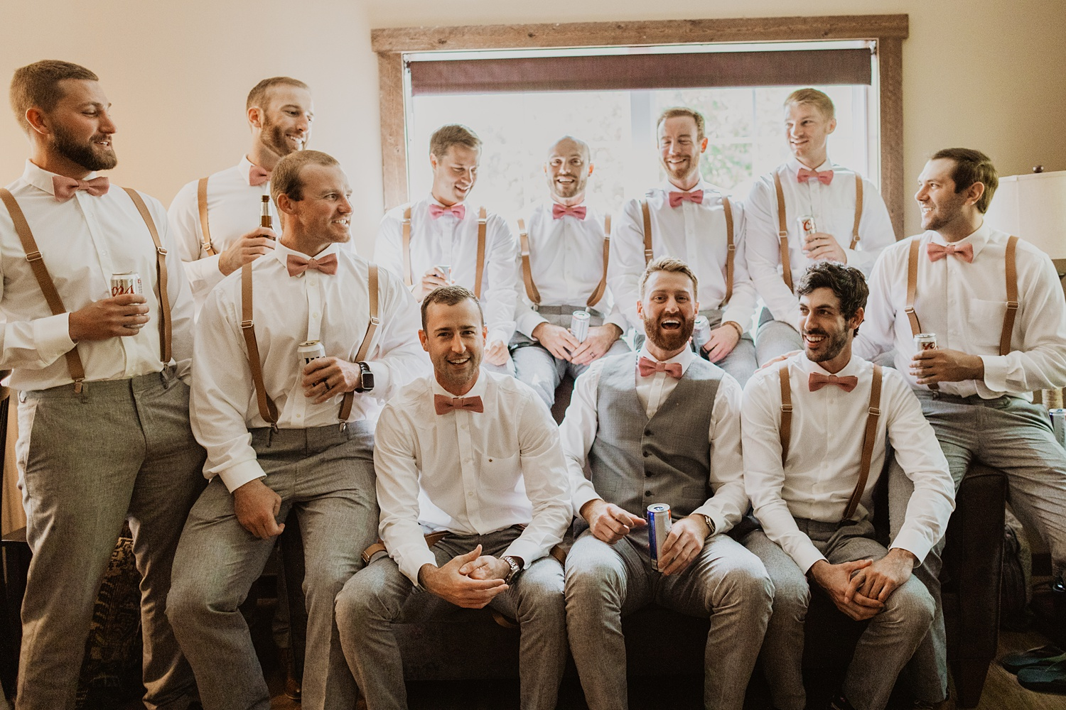South Dakota Wedding | Groomsmen Suits | Groom Getting Ready | Cassie Madden Photography