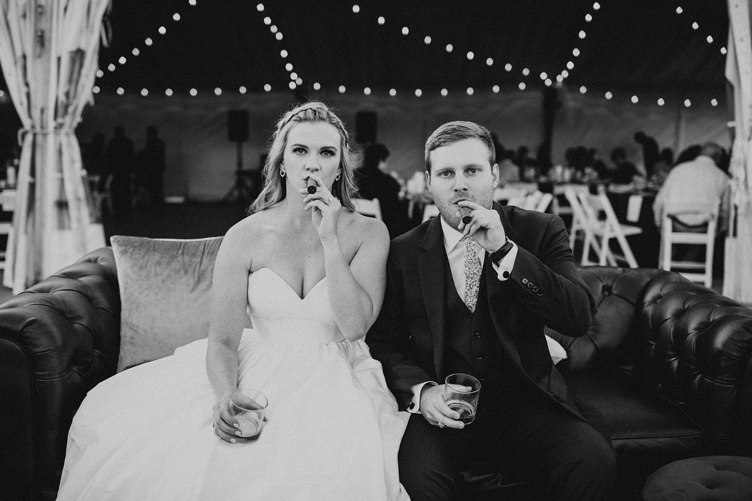 Colorado Wedding | Specialty Wedding Cigars | Unique Bride and Groom Pictures | Cassie Madden Photography